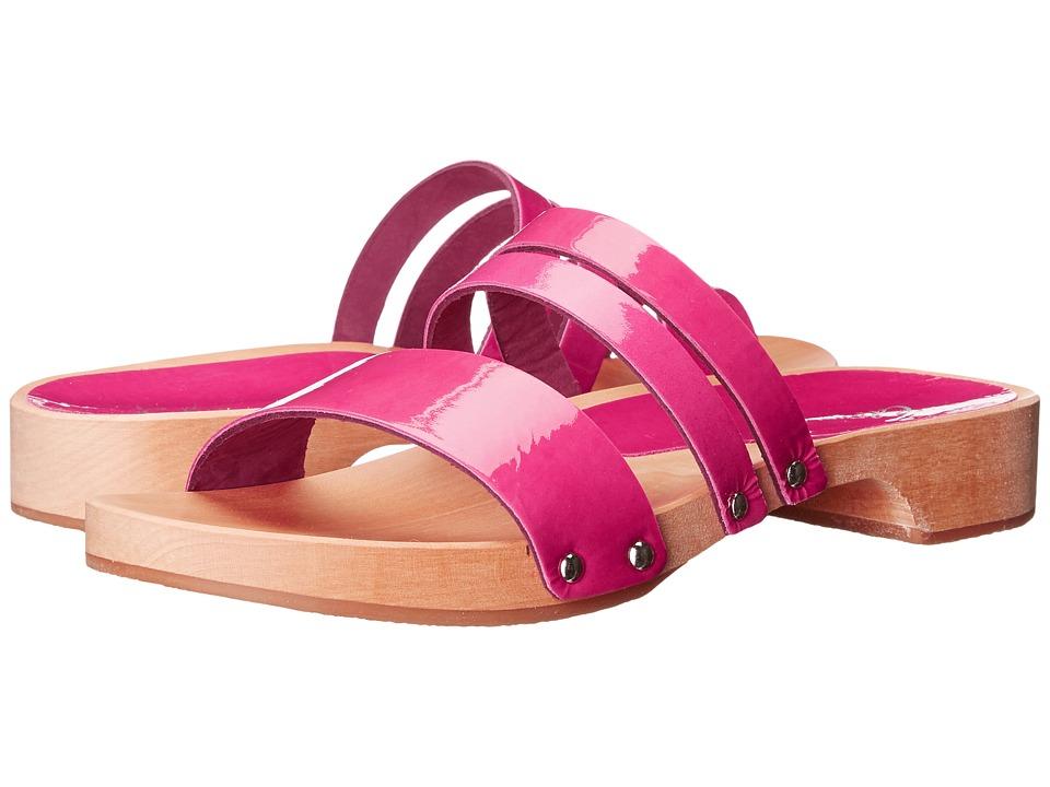 Calou Stockholm Lillian Coral Patent Womens Shoes