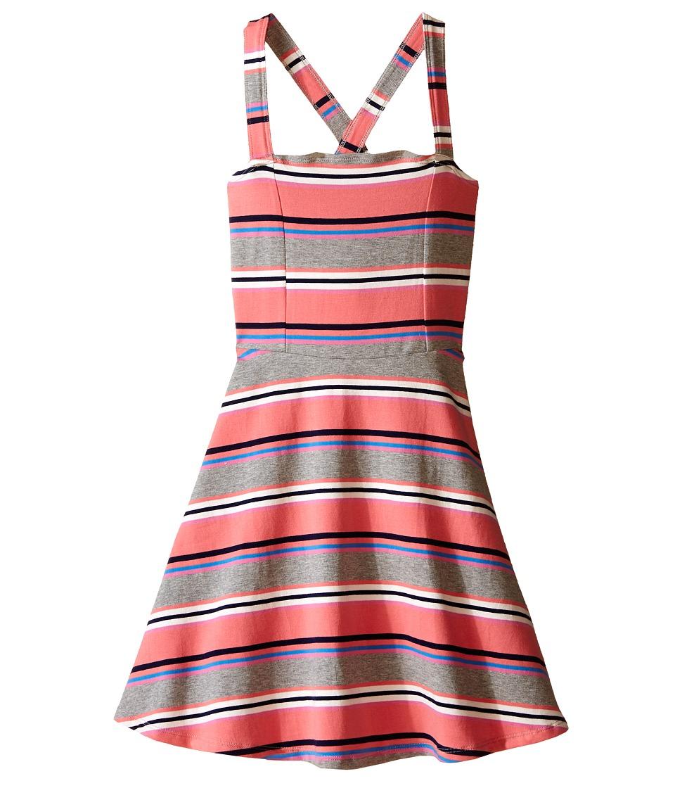 Toobydoo Tank Skater Dress Toddler/Little Kids/Big Kids Red/Navy/White/Blue/Pink/Gray Girls Dress