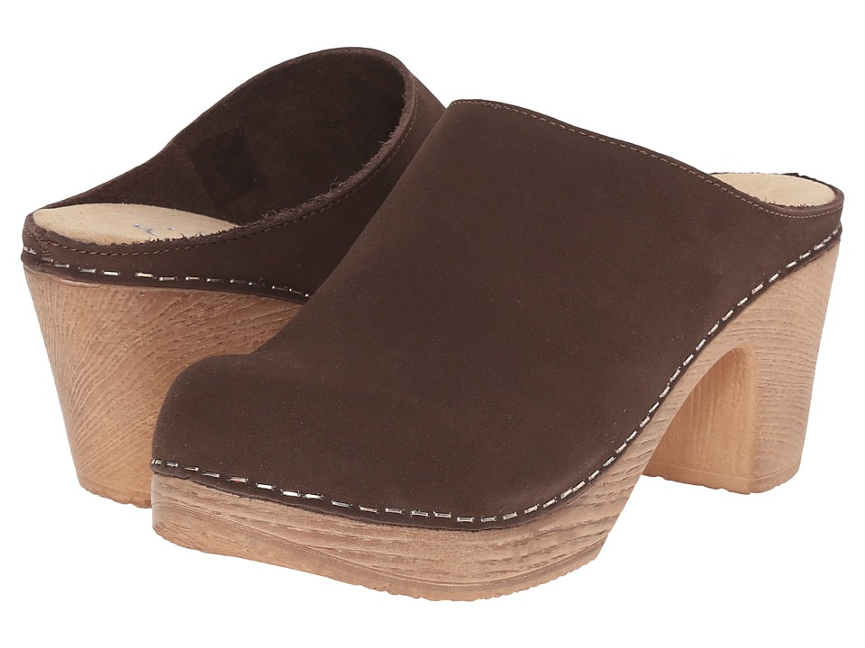 Calou Stockholm Lisa Brown Womens Shoes