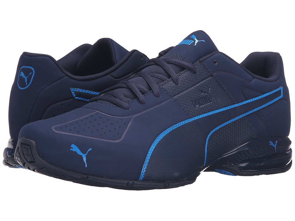 PUMA - Cell Surin 2 Matte (Peacoat/Electric Blue Lemonade) Men