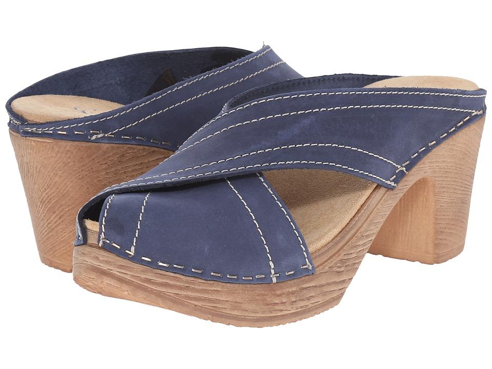 Calou Stockholm Marie Blue Womens Shoes