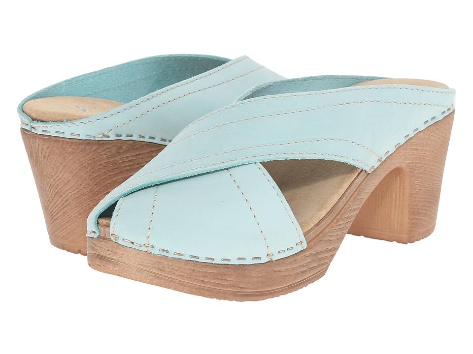 Calou Stockholm Marie Aqua Womens Shoes
