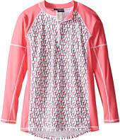 Toobydoo - Flamingo Long Sleeve Rashguard (Infant/Toddler/Little Kids/Big Kids)