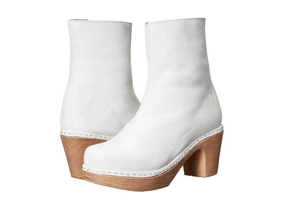 Calou Stockholm Molly White Womens Boots