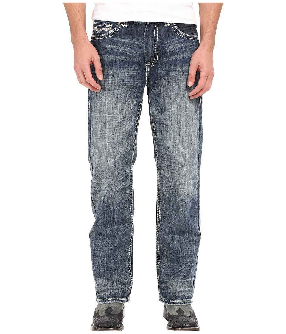 Rock and Roll Cowboy Double Barrel in Medium Vintage M0S6632 Medium Vintage Mens Jeans
