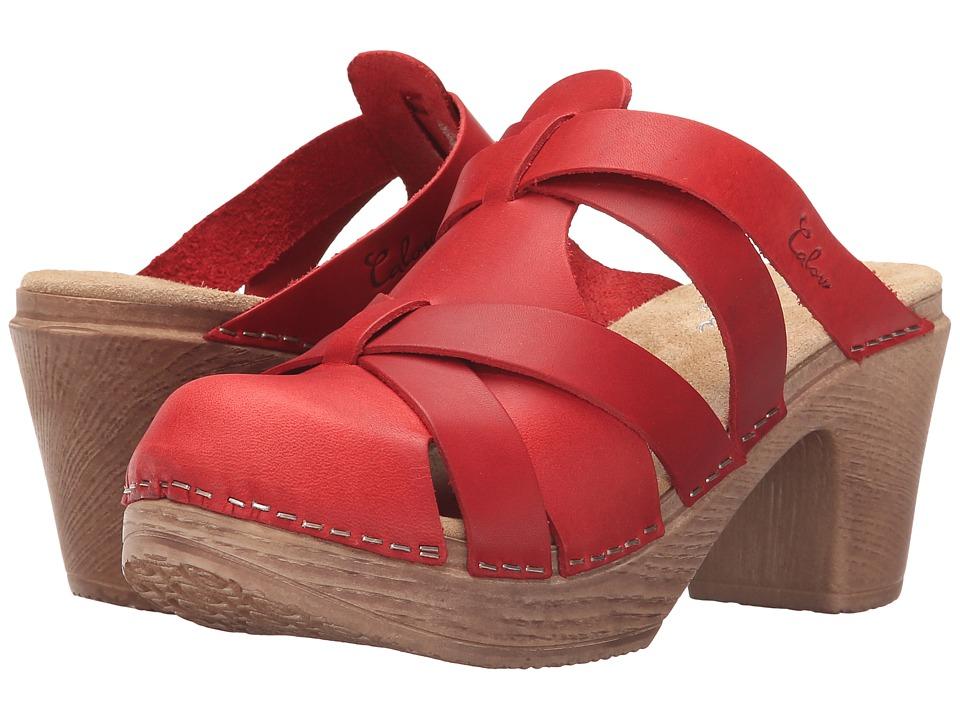 Calou Stockholm Nancy Red Womens Shoes
