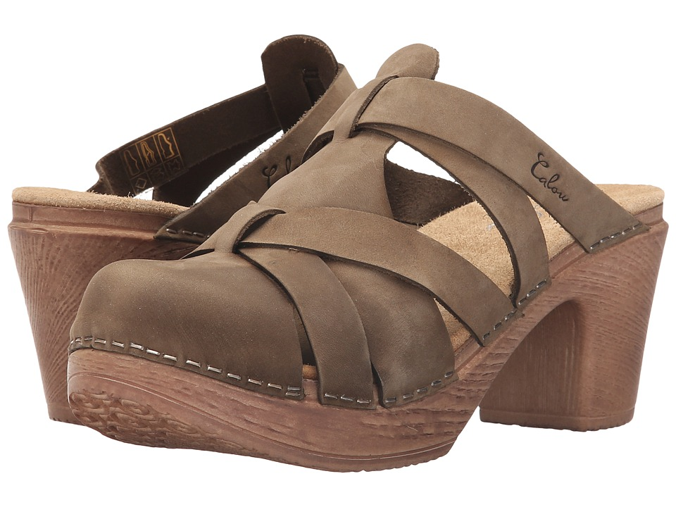 Calou Stockholm Nancy Olive Womens Shoes