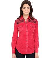 Rock and Roll Cowgirl - Long Sleeve Snap B4S6400