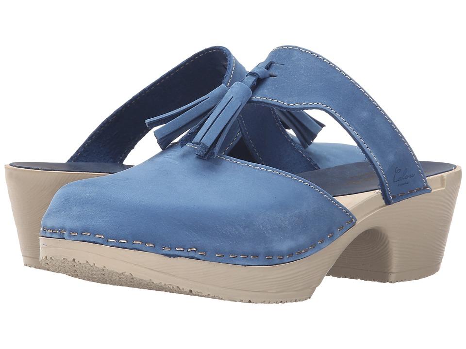 Calou Stockholm Penny Strap Blue Womens Shoes