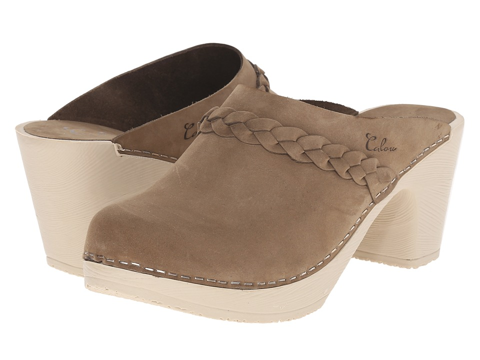 Calou Stockholm Sally Olive Womens Shoes