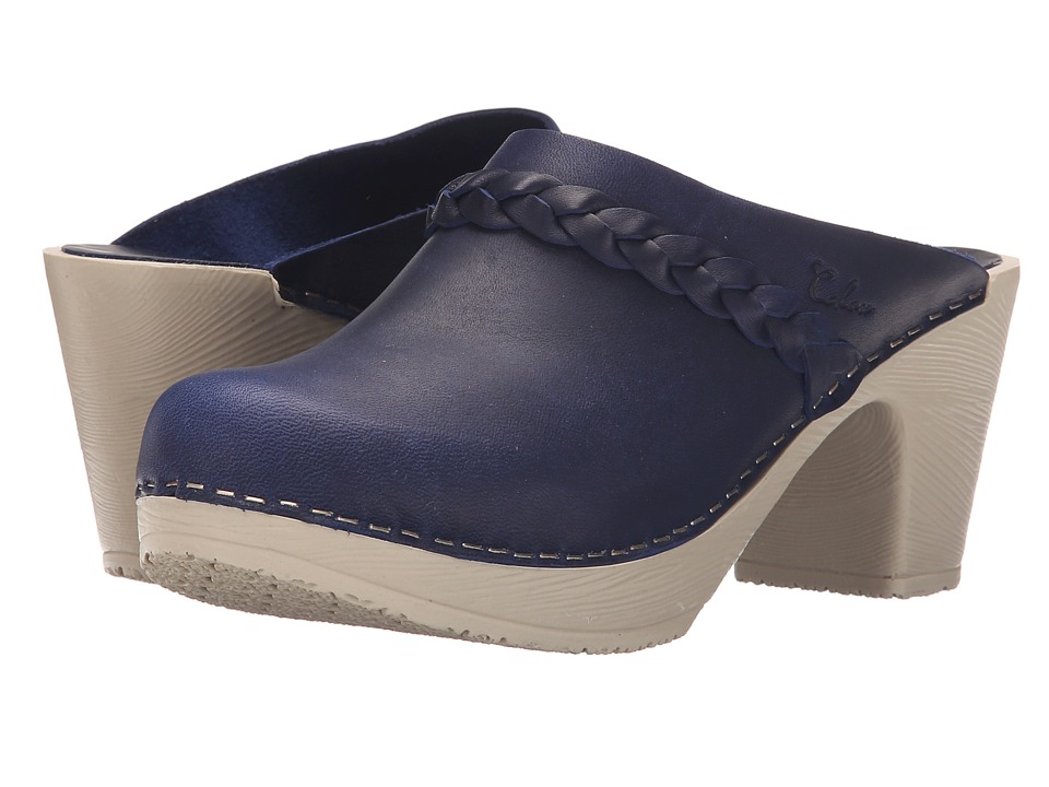 Calou Stockholm Sally Blue Womens Shoes
