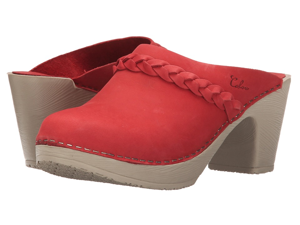Calou Stockholm Sally Red Womens Shoes