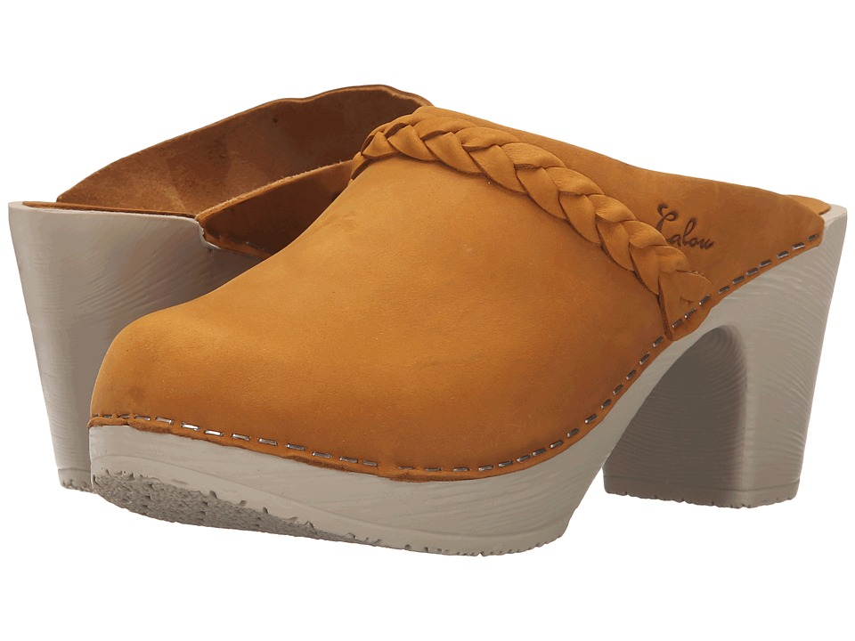 Calou Stockholm Sally Mustard Womens Shoes