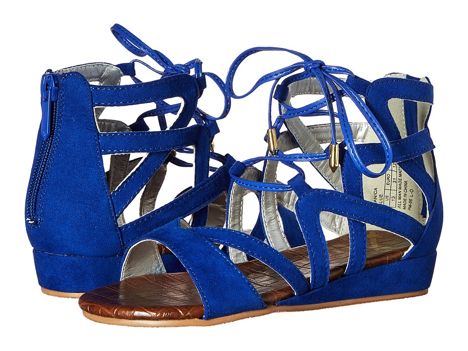 Sam Edelman Kids Danica Lace Up Little Kid/Big Kid Sailor Blue Girls Shoes