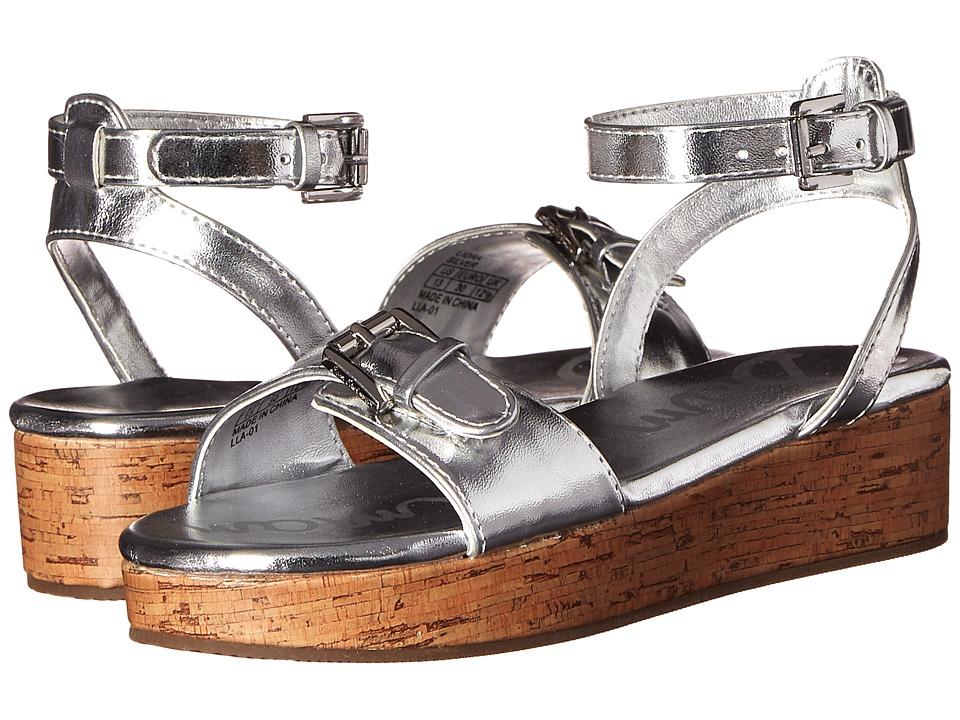 Sam Edelman Kids Liora Little Kid/Big Kid Silver Metallic Girls Shoes