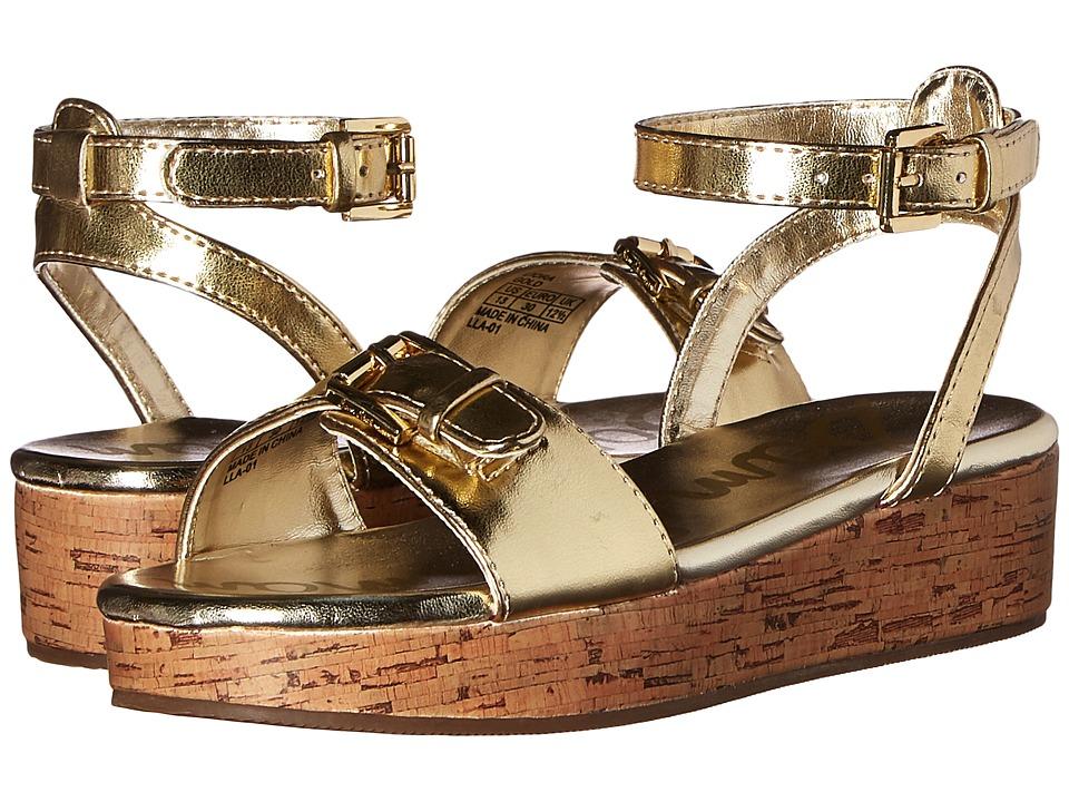Sam Edelman Kids Liora Little Kid/Big Kid Gold Metallic Girls Shoes