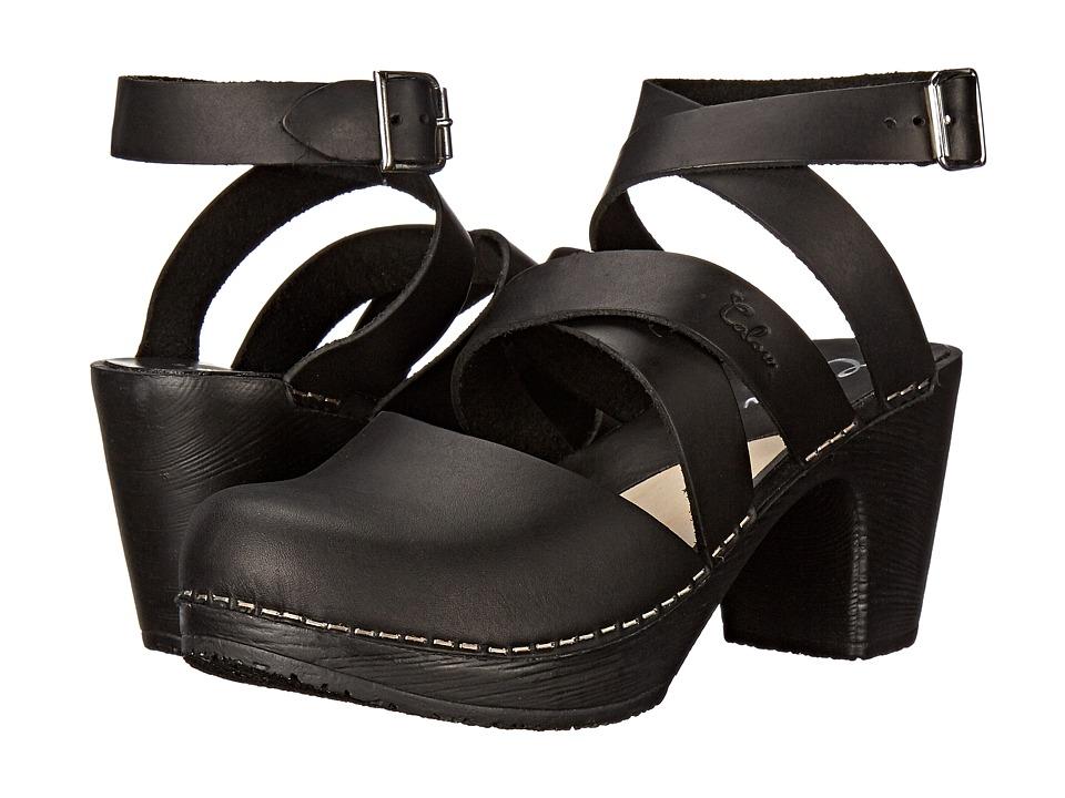 Calou Stockholm Stina Black Womens Shoes