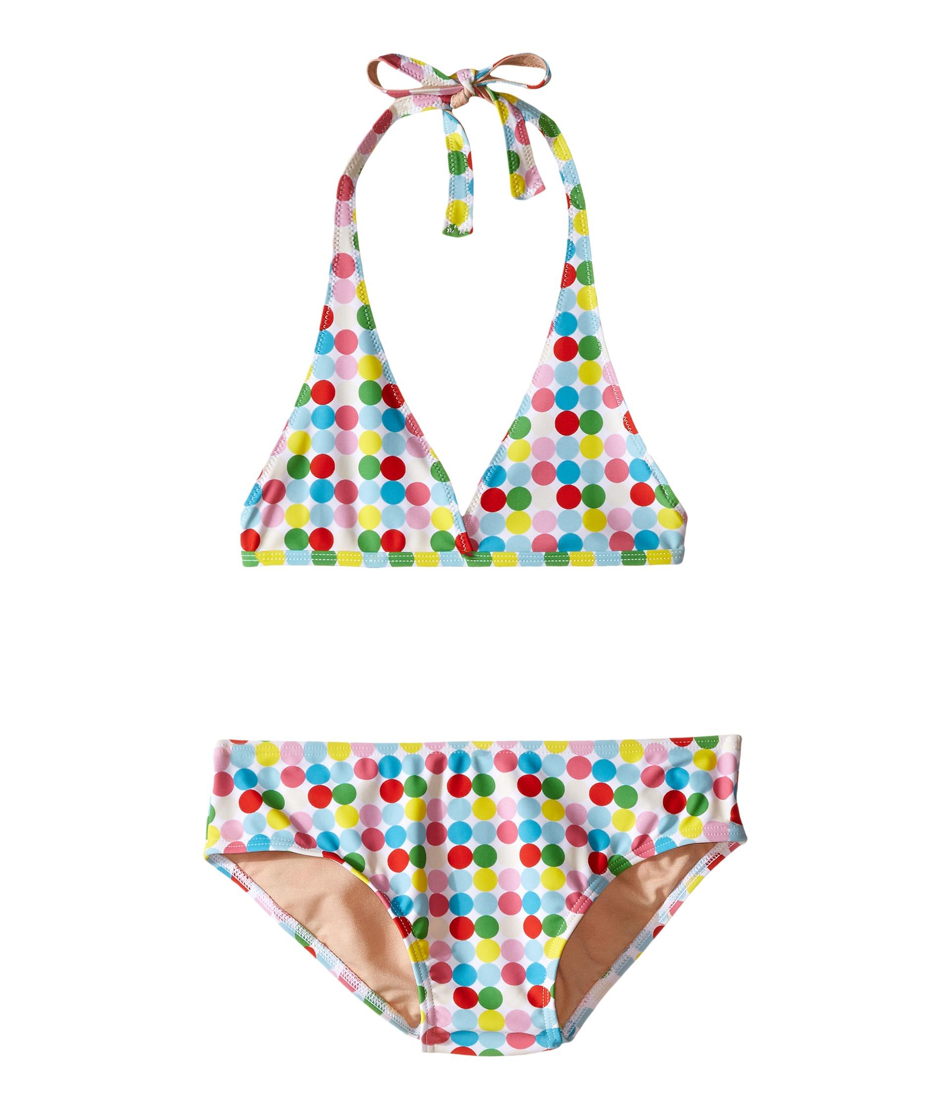 Toobydoo Dot String Bikini (Infant/Toddler/Little Kids/Big