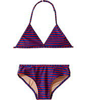 Toobydoo - Royal Blue/Red String Bikini (Infant/Toddler/Little Kids/Big Kids)