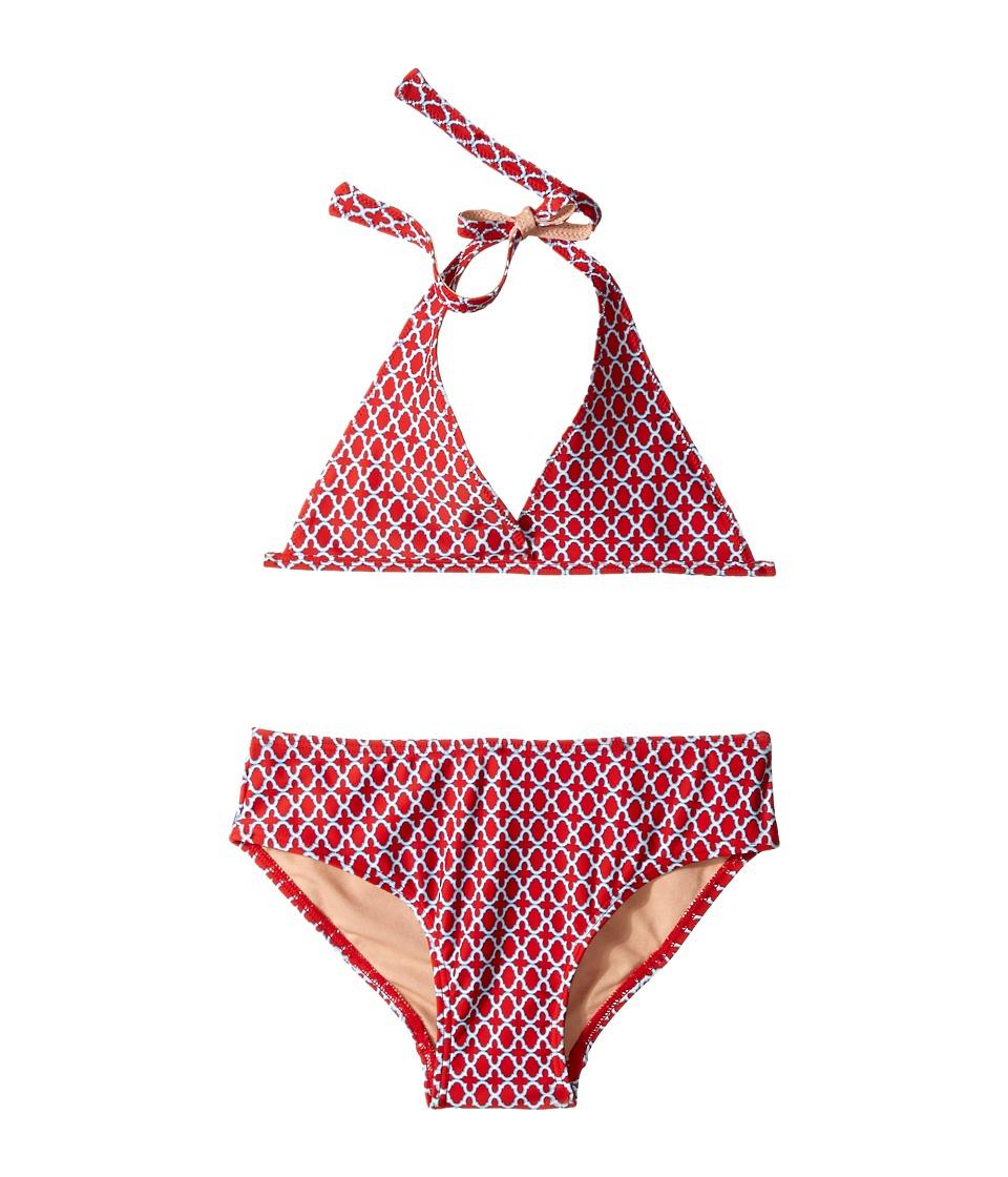 Toobydoo Red/Blue String Bikini Infant/Toddler/Little Kids/Big Kids Blue/Red Girls Swimwear