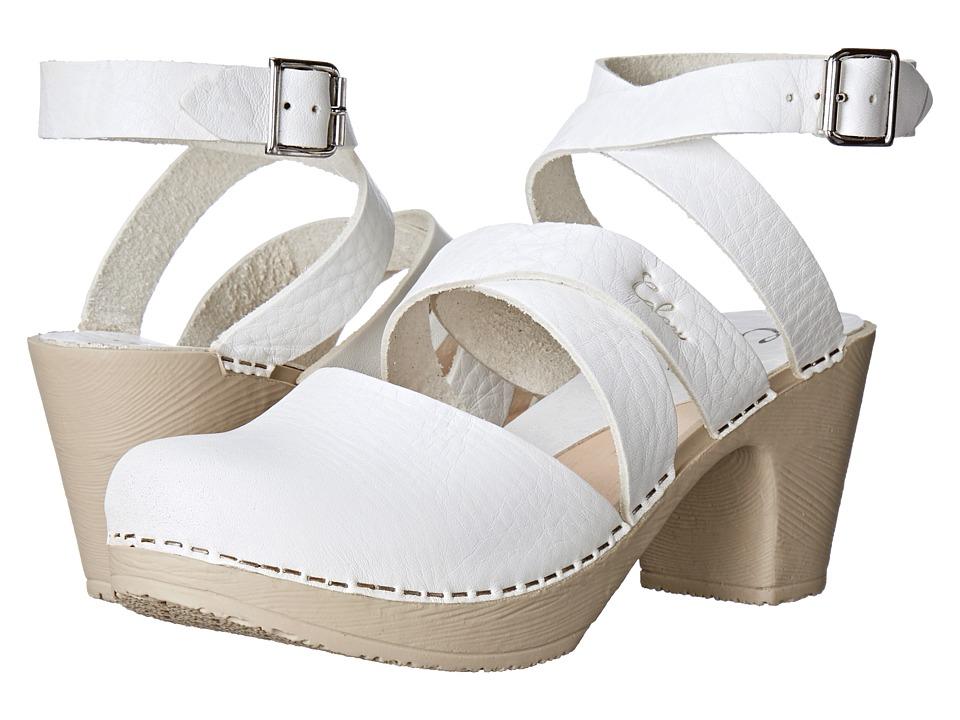 Calou Stockholm Stina White Womens Shoes