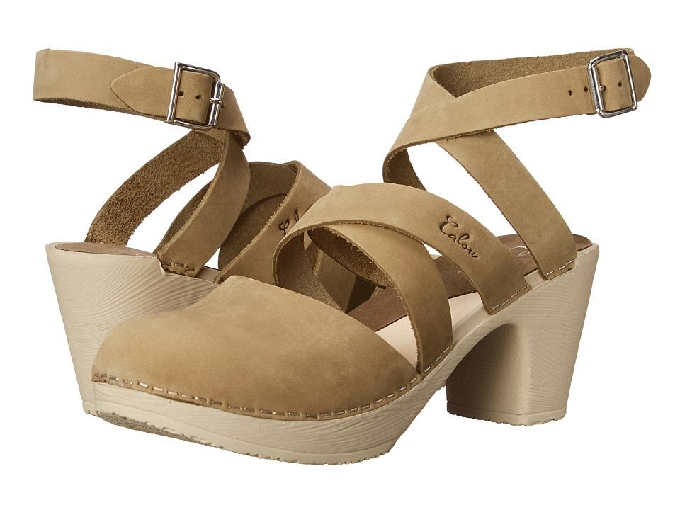 Calou Stockholm Stina Olive Womens Shoes