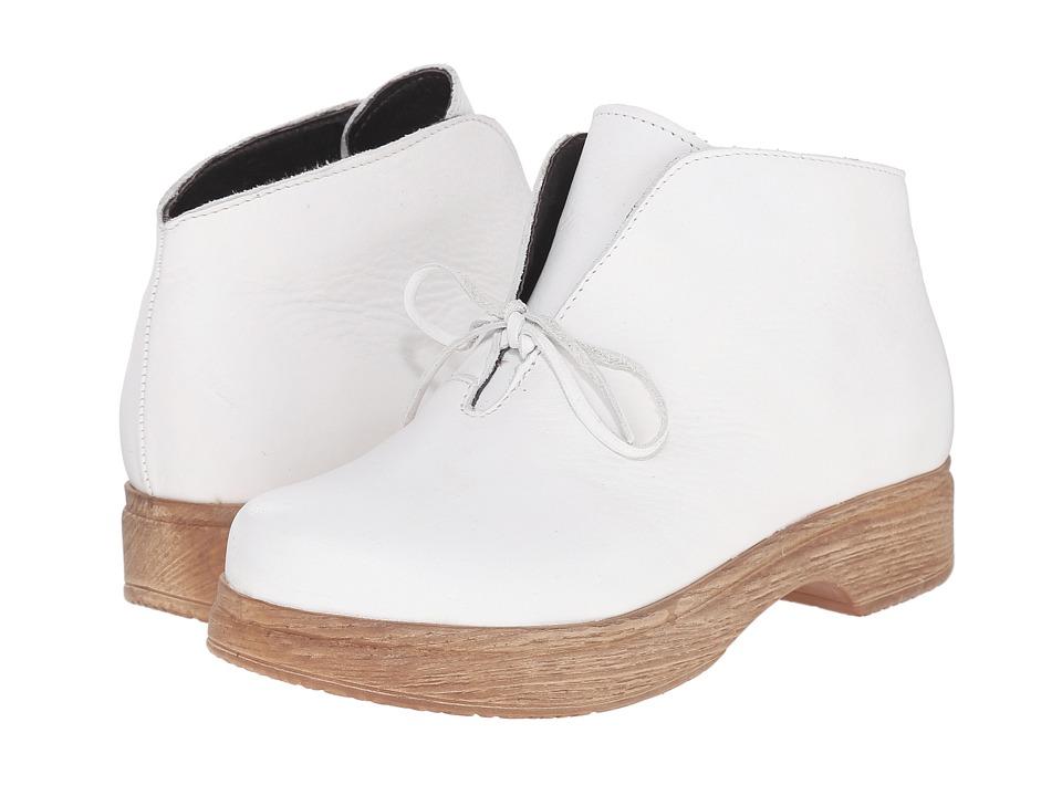 Calou Stockholm Susanne White Womens Boots