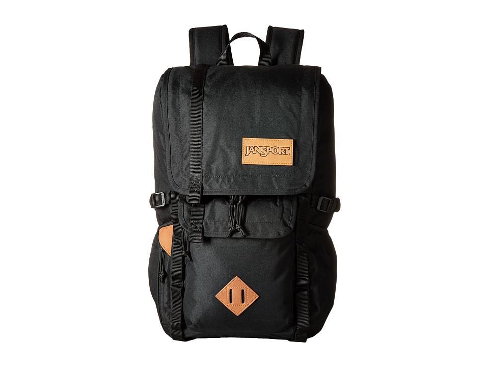JanSport - Hatchet Backpack (Black) Backpack Bags