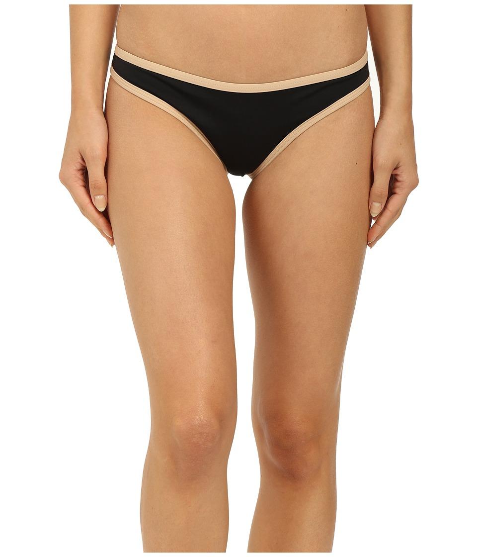 LSpace Cosmopolitan Classic Bottom Black Womens Swimwear