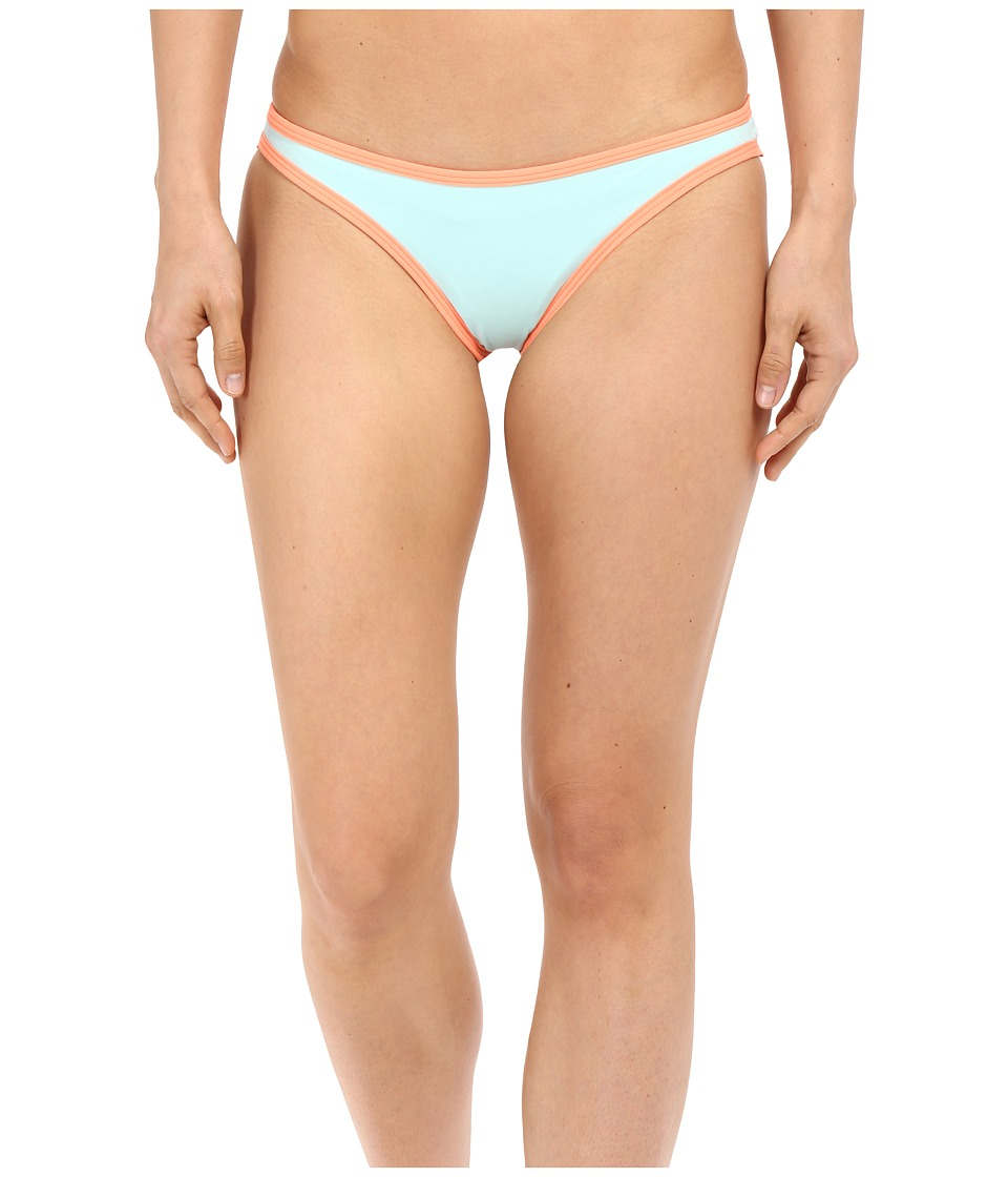 LSpace Color Block Cosmo Itsy Bottom Seaglass Womens Swimwear