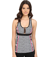 Trina Turk - Pop Tropics Tank Top with Removable Cups