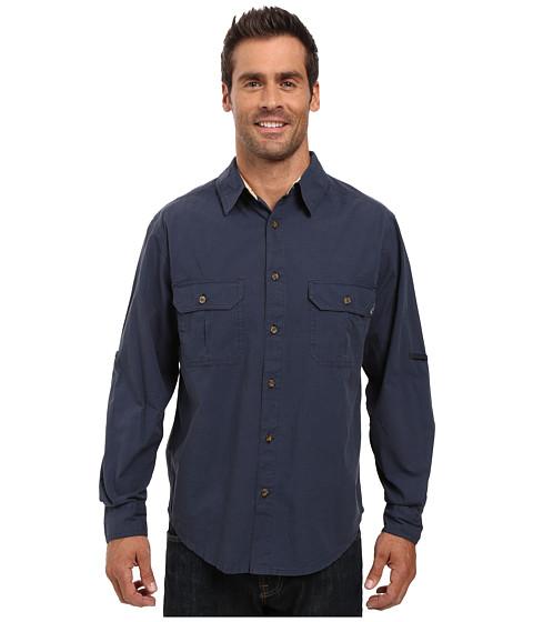 Woolrich Midway Solid Long Sleeve Shirt Regular Fit - Deep Indigo