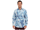 Bugatchi Blue Sky Classic Fit Long Sleeve Woven Shirt (Jade)