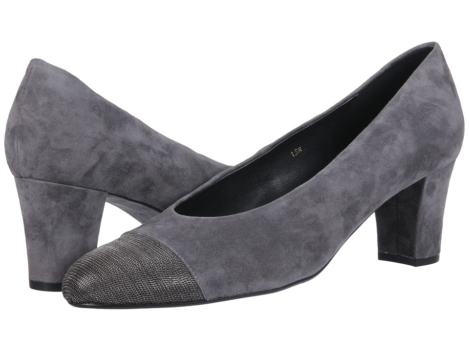 Vaneli Dank (Grey Suede/Pewter Chain) Women