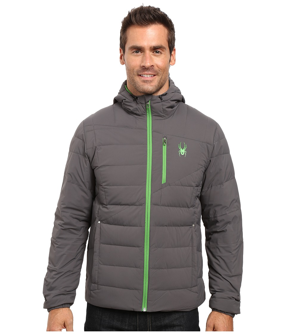 Spyder Dolomite Hoodie Down Jacket (Polar/Blade) Men