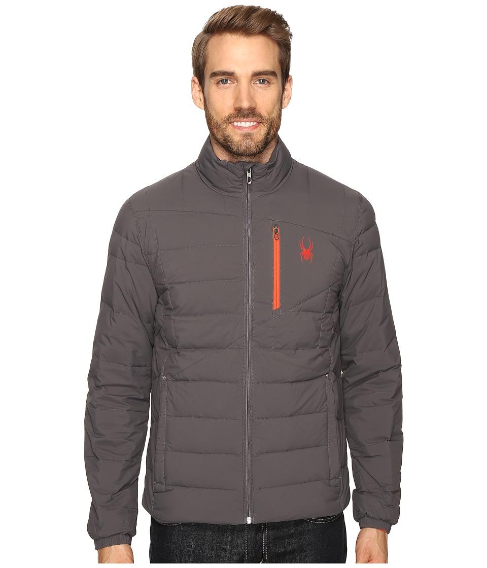 Spyder Dolomite Full Zip Down Jacket (Polar/Rage) Men