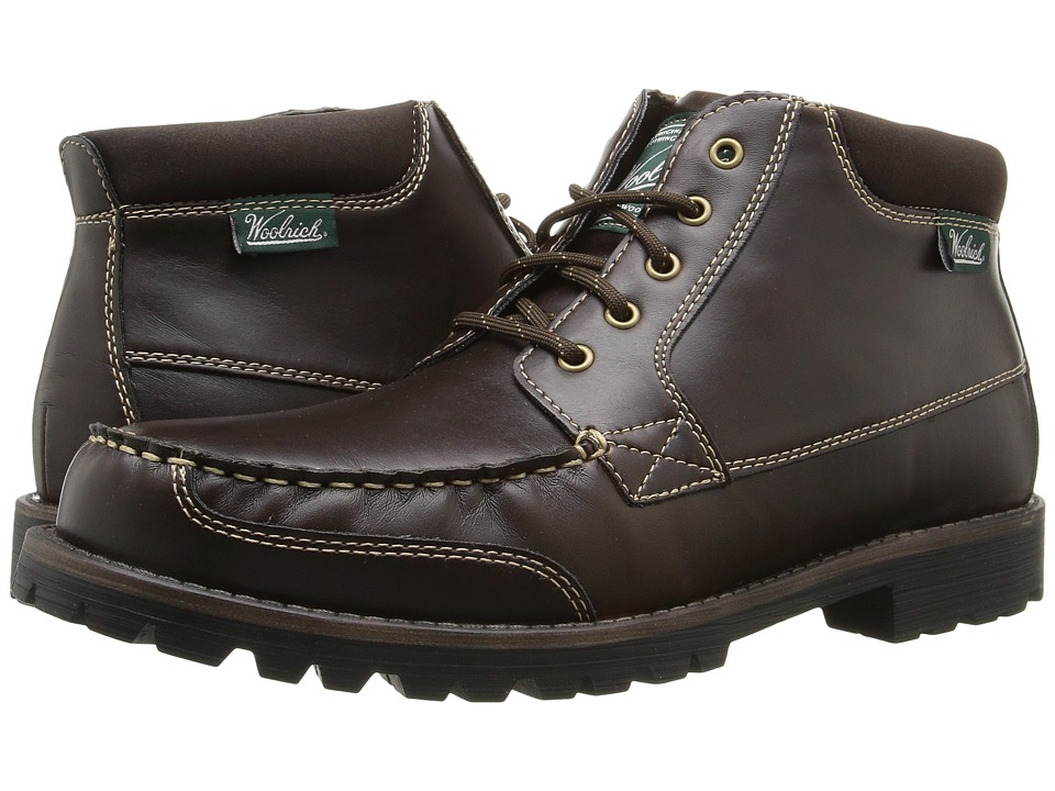 Woolrich - Hickory Run Mid (Dark Brown) Men's Shoes