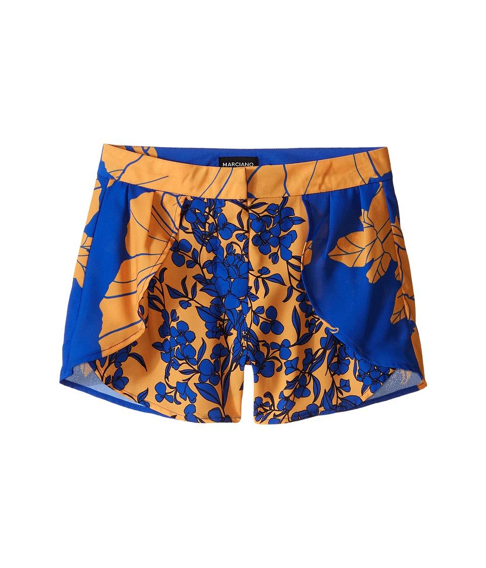 Marciano Kids Denisa Tulip Printed Shorts Big Kid Multi Girls Shorts