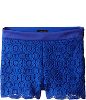 Marciano Kids - Lace Shorts w/ Pleather Trim (Big Kid)