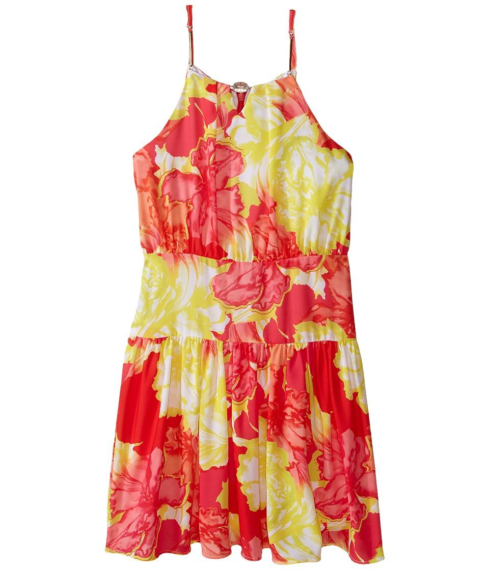 Marciano Kids Floral Fever Dress Big Kid Multi Girls Dress