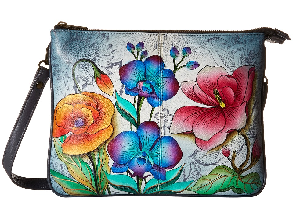 Anuschka Handbags - 570 (Floral Fantasy) Handbags