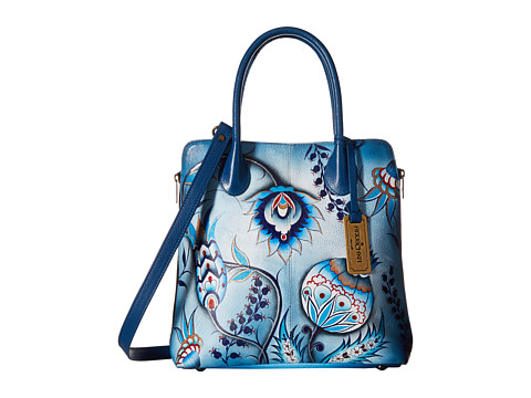 Anuschka Handbags 551 Medium Expandable Convertible Tote - Bewitching Blues