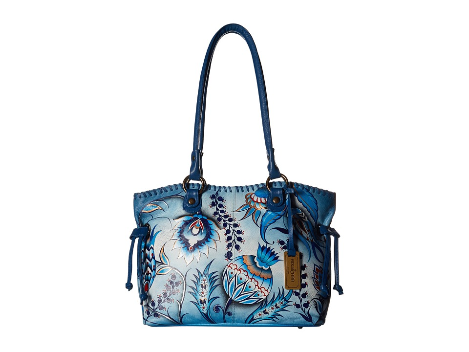 Anuschka Handbags - 569 (Bewitching Blues) Handbags