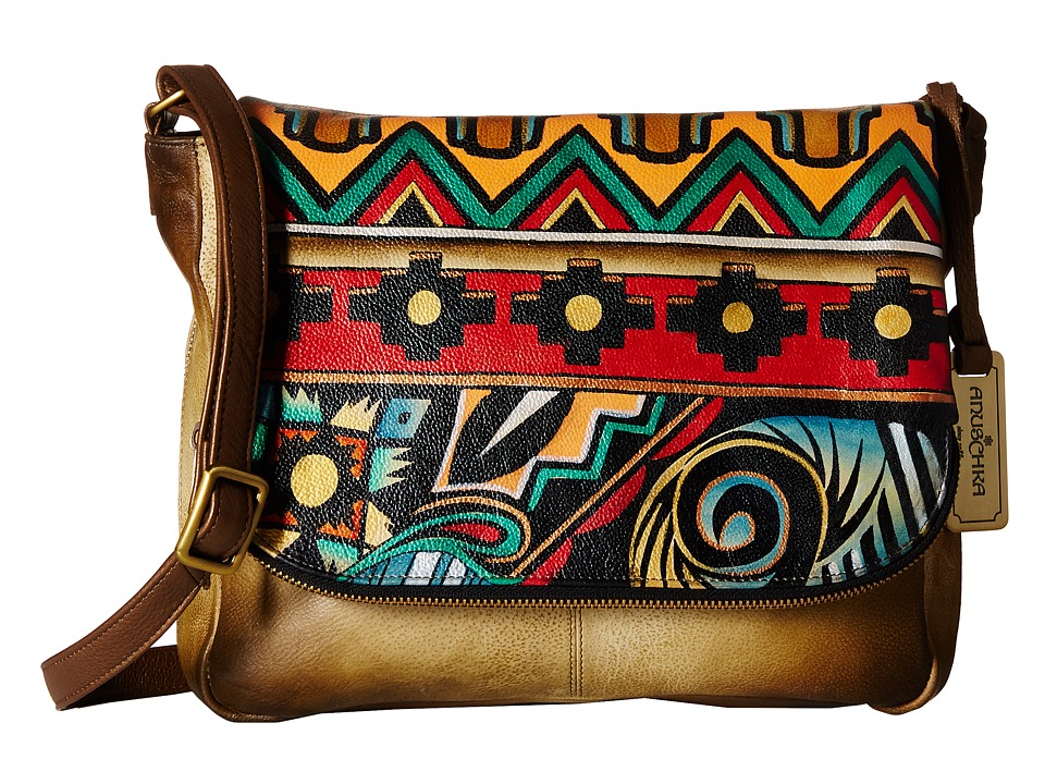 Anuschka Handbags - 585 (Antique Aztec) Handbags