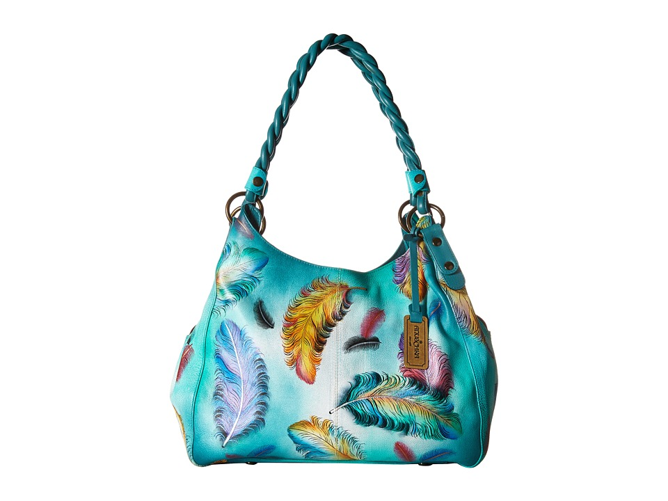 Anuschka Handbags - 533 (Floating Feathers) Handbags