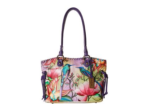 Anuschka Handbags 569 Large Drawstring Shopper - Spring Passion