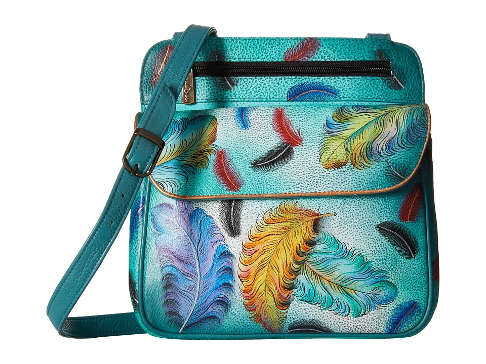 Anuschka Handbags - 530 (Floating Feathers) Handbags