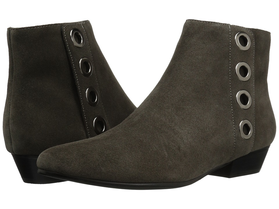 Vaneli - Mikus (Grey Calf Suede/Gunmetal Trim) Women