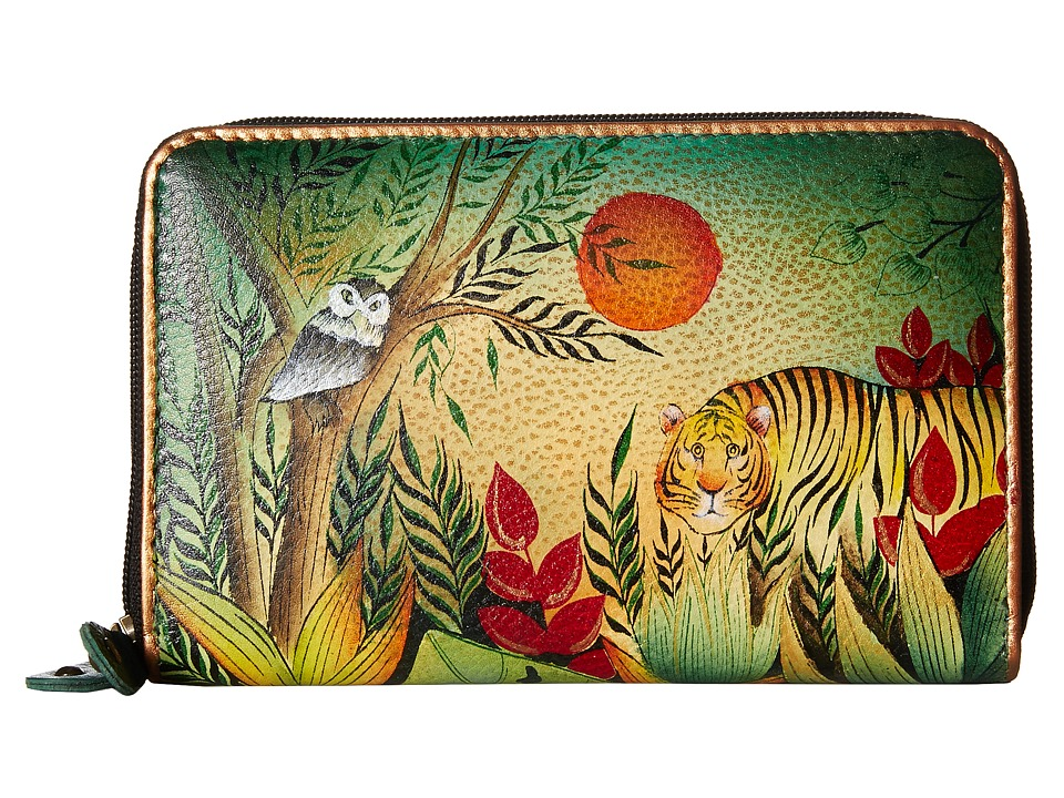 Anuschka Handbags - 1125 (Rousseau s Jungle) Handbags