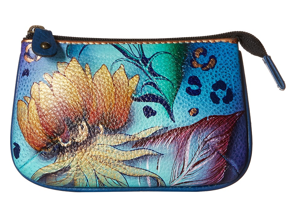 Anuschka Handbags 1107 Tropical Dream Coin Purse